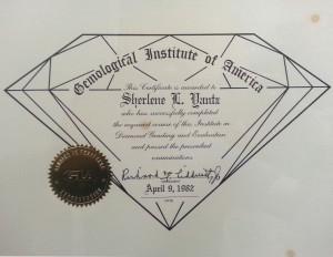 Shelene Diamond-Diploma