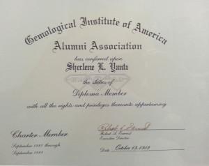 Sherlene Diploma-Member